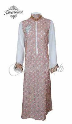 Embroidered Chiffon Collection 2012 for women by Cross Stitch