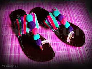 Kolhapuri Chappals Collection 2012 by Shooz factory