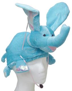 Flying Blue Elephant Hat