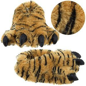 Tiger Claw Animal Slippers