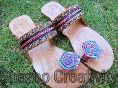 Shazoo Creativity New Kolhapuri Shoes Collection 2012 For Eid Summer