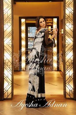 Semi-Formal Wear Collection 2012 By Ayesha Adnan