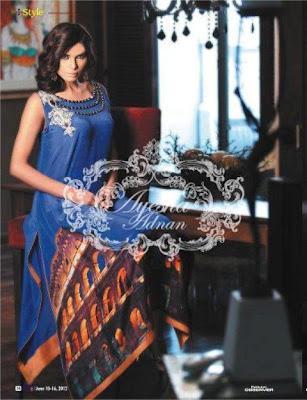 Semi-Formal Wear Collection 2012 By Ayesha Adnan