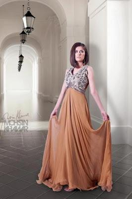 Salehaz Collection Gowns Catalogue II By Saleha Waqar