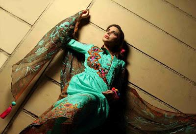 Sabiha's Designer Latest Lawn Collection Mid-Summer Fiesta 2012