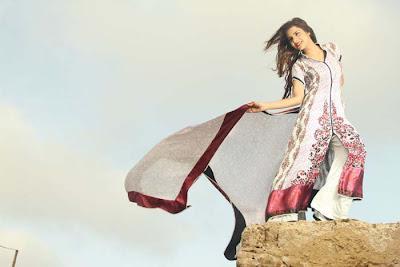 Sabiha's Designer Latest Lawn Collection Mid-Summer Fiesta 2012