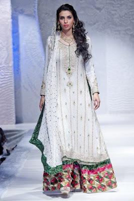 Roshan by Mariam Najmi Collection at Pakistan Fashion Week London 2012