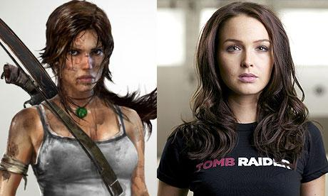 Lara Croft 001 Camilla Luddington to Play Lara Croft in Tomb Raider Video Game