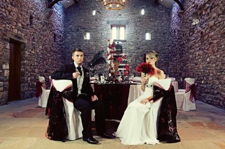 gothic wedding ideas inspiration English Wedding Blog