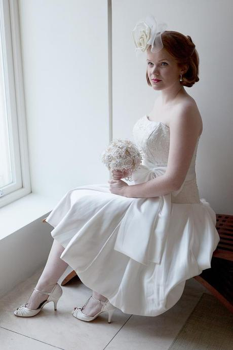 1950s wedding inspiration shoot on English Wedding Blog