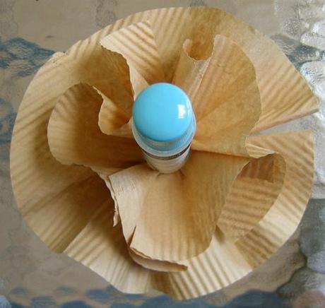 Coffee Filter Flower Construction