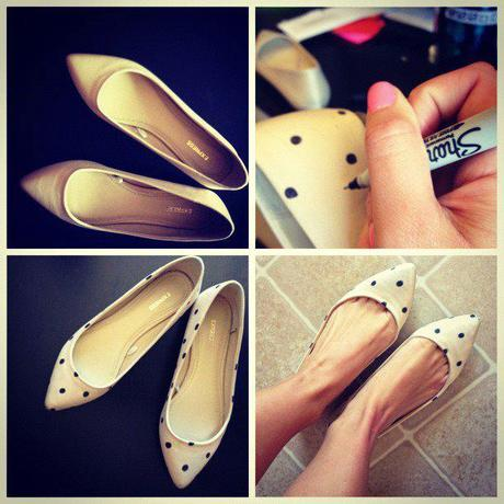 DIY: Polka Dot Shoes…