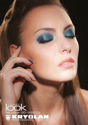 Get The Look : Kyrolan : Kyrolan Blue Aura Makeup Look