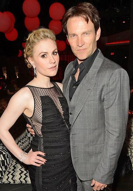 Anna Paquin & Stephen Moyer Expecting Twins