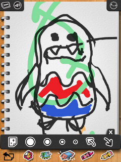 iLuv Drawing Monsters iPad App