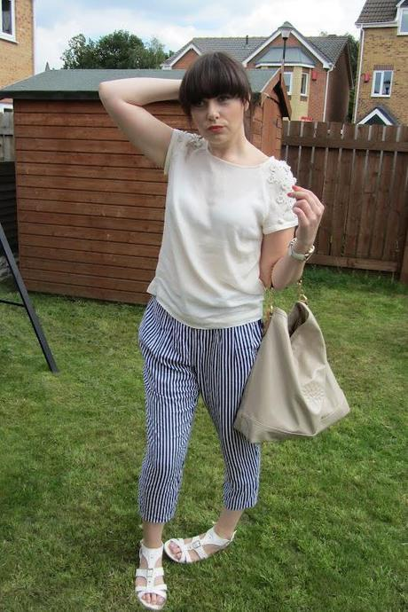OOTD|| Monki trousers and Zara top