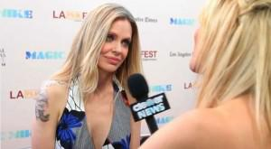 Video: Kristin Bauer van Straten Says Motherhood for Pam Will Be Like Wild Kingdom