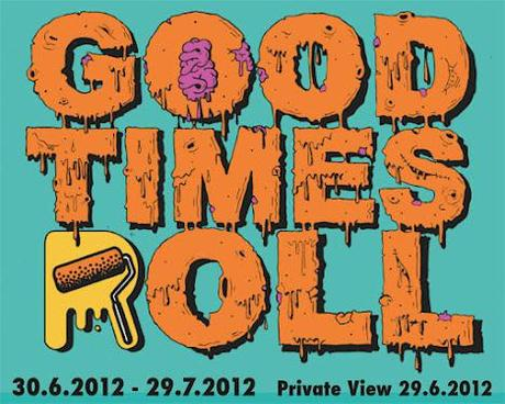 Good Times Roll Exhibition At High Roller Society Gallery