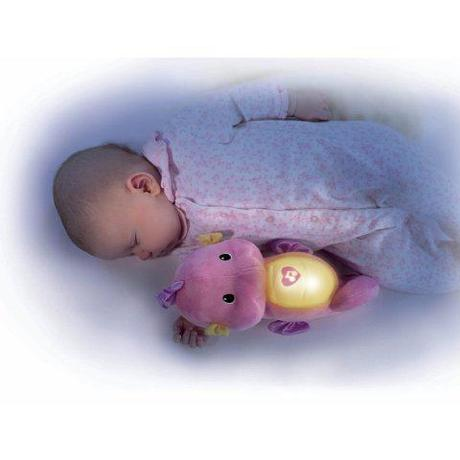 Fisher Price Soft and Glow Seahorse in Pink