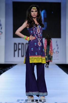 Karma Fabric By Al-Zohaib Textile at PFDC Sunsilk Fashion Week 2012