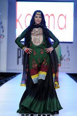 Karma Fabric By Al-Zohaib Textile at PFDC Sunsilk Fashion Week 2012