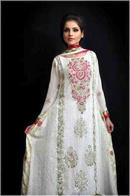 Amna's Fashion Collection Eid Dresses Collection 2012 for women