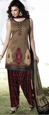 Nakshatra Designerwear Stylish Readymade Churidar Patiala Suits