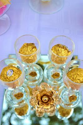 Gold and Pink Table by Your Unique Party