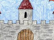 Textured Castle Drawing