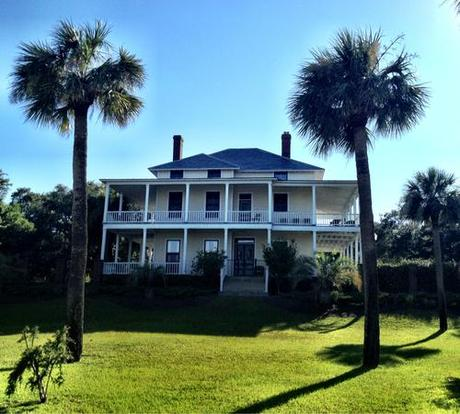 A girl can dream.   (Of owning this mansion on Officers Row on Tybee Island. Built on the ocean in 1899. Current price $964,000.)