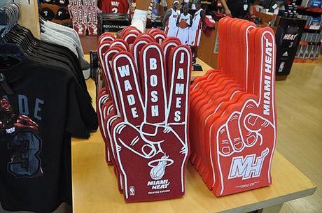 Miami Heat Big Three merchandises