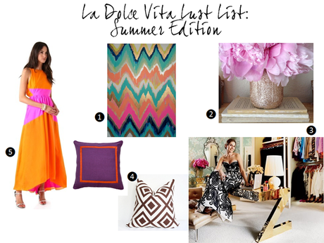 [Guest Post] La Dolce Vita // Summer Lust List