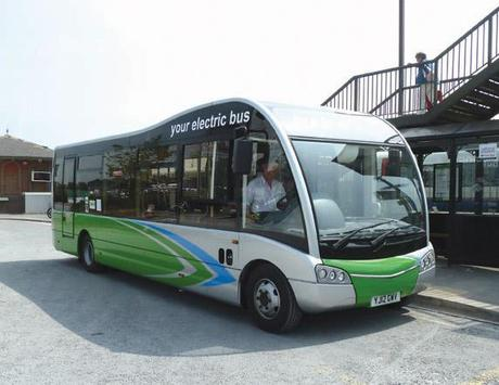 Green grant gives Dorset 2 new electric buses!