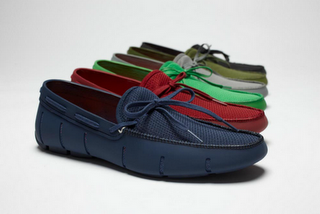 Get Your Feet Wet...Or Not!:  SWIMS Lace Loafer