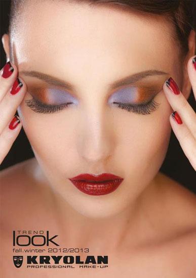 Face Charts: Kyrolan : Kryolan Femme Phenomenon