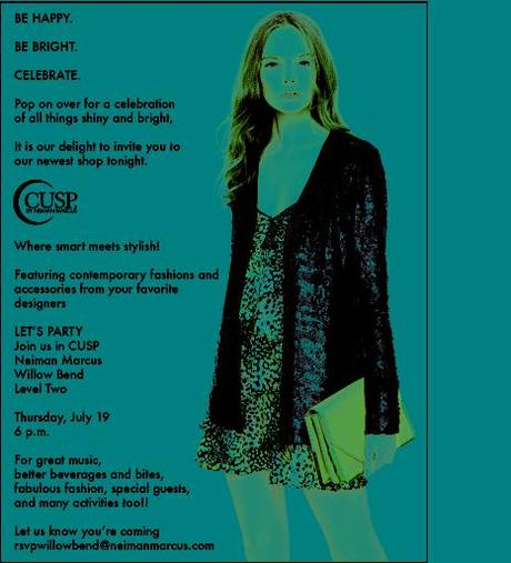 Save the Date: CUSP at Neiman Marcus celebrates Summer Style
