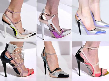 The Jill Sander stiletto shoes