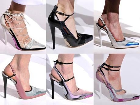 The Jill Sander stiletto shoes
