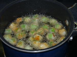 Mmmmmmmmmm……Fried Okra