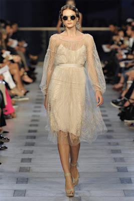 Zac Posen Spring Collection 2012 at New York Fashion Week