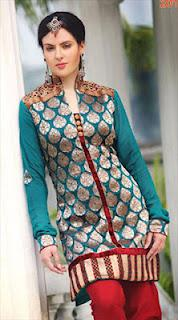 Stylish Party Wear Salwar Kameez collection 2012