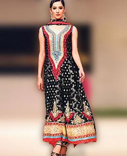 Stylish Party Wear Salwar Kameez collection 2012