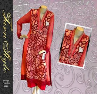 Turn Style Ready to Wear Eid Collection 2012 for Women