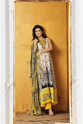 Brocade Summer Lawn Collection 2012 by Lala Textiles