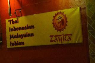 Let's Go Vegetarian at Zayka
