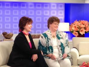 Charlaine Harris on the Today show!