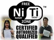 Free Ni-Ti Zone