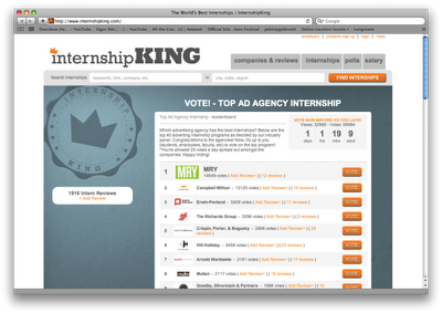 Internship King