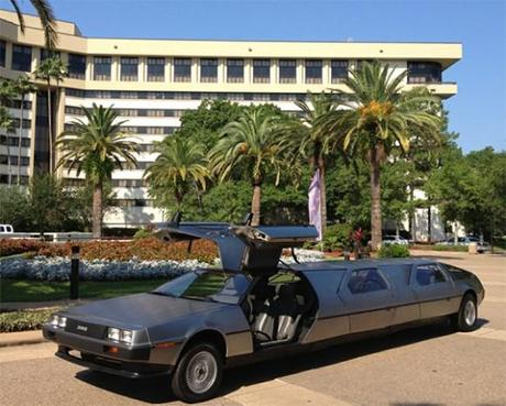 Go To A Party In Style… With The DeLorean Limo