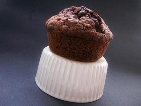 chocolate carrot muffin